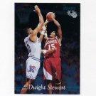 1995 Classic Basketball FOIL #057 Dwight Stewart - Arkansas