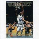 1996 Score Board Rookies Basketball #010 Lorenzen Wright - University of Memphis / LA Clippers