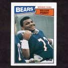 1987 Topps Football #055 William Perry - Chicago Bears Ex