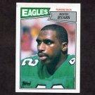 1987 Topps Football #297 Keith Byars RC - Philadelphia Eagles