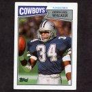 1987 Topps Football #264 Herschel Walker RC - Dallas Cowboys