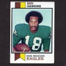 1973 Topps Football #257 Ben Hawkins - Philadelphia Eagles
