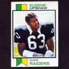 1973 Topps Football #050 Gene Upshaw - Oakland Raiders