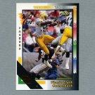 1992 Wild Card Football 50 Stripe #051 Vinnie Clark - Green Bay Packers