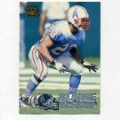1997 Pacific Silver Football #156 Blaine Bishop - Tennessee Oilers