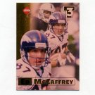 1998 Collector's Edge First Place Triple Threat Football #12 Ed McCaffrey - Denver Broncos