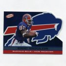 2001 Pacific Prism Atomic Football #018 Eric Moulds - Buffalo Bills