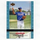 2002 Upper Deck Ovation Baseball #113 Alex Rodriguez - Texas Rangers