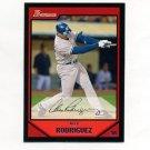 2007 Bowman Baseball #200 Alex Rodriguez - New York Yankees