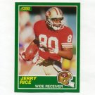 1989 Score Football #221 Jerry Rice - San Francisco 49ers