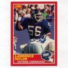 1989 Score Football #192 Lawrence Taylor - New York Giants