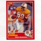 1989 Score Football #188A Mark Carrier RC - Tampa Bay Buccaneers ERR