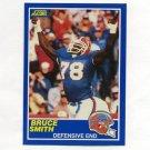 1989 Score Football #019 Bruce Smith - Buffalo Bills