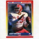 1990 Score Football #651 Scott Mitchell RC - Miami Dolphins