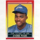 1990 Score Football #607 Andre Ware C90 - Detroit Lions
