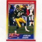 1990 Score Football #589 Sterling Sharpe AP - Green Bay Packers