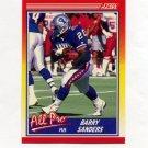 1990 Score Football #580 Barry Sanders AP - Detroit Lions
