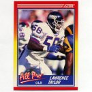 1990 Score Football #571 Lawrence Taylor AP - New York Giants