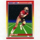 1990 Score Football #556 Jerry Rice RM - San Francisco 49ers