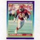 1990 Score Football #500 Derrick Thomas - Kansas City Chiefs