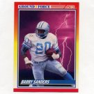 1990 Score Football #325 Barry Sanders GF - Detroit Lions
