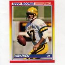 1990 Score Football #309 John Friesz RC - San Diego Chargers