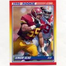 1990 Score Football #302 Junior Seau RC - San Diego Chargers