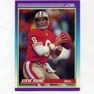 1990 Score Football #145 Steve Young - San Francisco 49ers