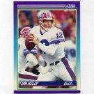 1990 Score Football #112 Jim Kelly - Buffalo Bills