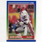 1990 Score Football #095 Deion Sanders - Atlanta Falcons