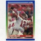 1990 Score Football #070 Chris Miller - Atlanta Falcons
