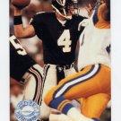 1991 Pro Set Platinum Football #290 Brett Favre RC - Atlanta Falcons