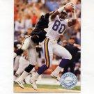 1991 Pro Set Platinum Football #224 Cris Carter - Minnesota Vikings