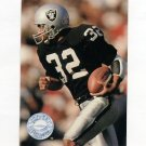 1991 Pro Set Platinum Football #209 Marcus Allen - Los Angeles Raiders