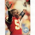 1991 Pro Set Platinum Football #147 Derrick Thomas PP - Kansas City Chiefs