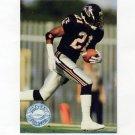 1991 Pro Set Platinum Football #141 Deion Sanders PP - Atlanta Falcons