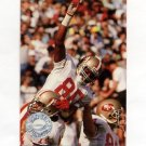1991 Pro Set Platinum Football #140 Jerry Rice PP - San Francisco 49ers