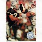 1991 Pro Set Platinum Football #054 Howie Long - Los Angeles Raiders