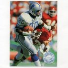 1991 Pro Set Platinum Football #033 Barry Sanders - Detroit Lions