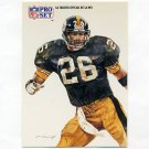 1991 Pro Set Spanish Football #295 Rod Woodson SS - Pittsburgh Steelers