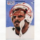 1991 Pro Set Spanish Football #291 Warren Moon SS - Houston Oilers