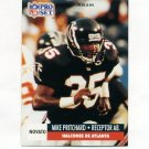 1991 Pro Set Spanish Football #260 Mike Pritchard - Atlanta Falcons