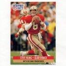 1991 Pro Set Spanish Football #225 Steve Young - San Francisco 49ers