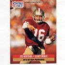 1991 Pro Set Spanish Football #221 Joe Montana - San Francisco 49ers