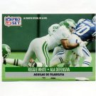 1991 Pro Set Spanish Football #189 Reggie White - Philadelphia Eagles