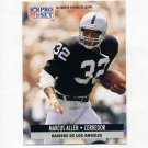 1991 Pro Set Spanish Football #109 Marcus Allen - Los Angeles Raiders