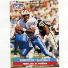 1991 Pro Set Spanish Football #090 Warren Moon - Houston Oilers