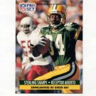 1991 Pro Set Spanish Football #080 Sterling Sharpe - Green Bay Packers