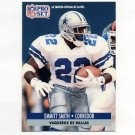 1991 Pro Set Spanish Football #054 Emmitt Smith - Dallas Cowboys
