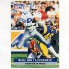 1991 Pro Set Spanish Football #049 Michael Irvin - Dallas Cowboys